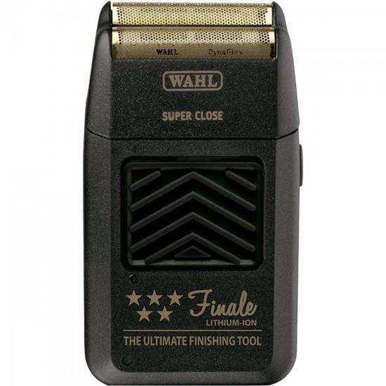 Aparador de Pelos com ou sem Fio FINALE Cinza WAHL  - Audio Video & cia