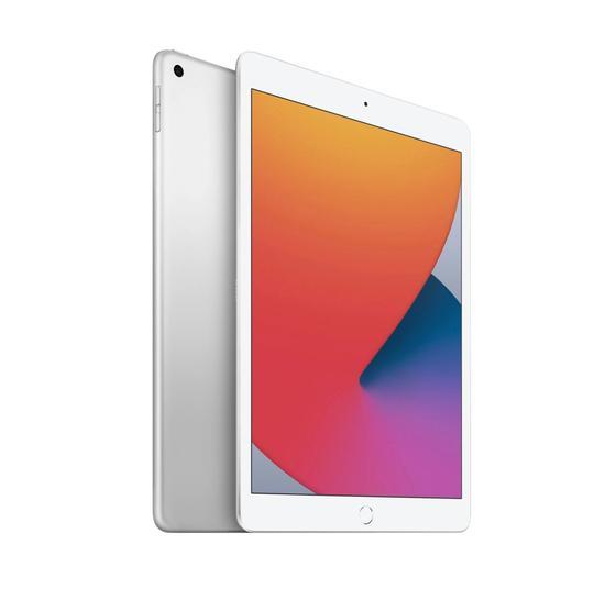 Apple Ipad 8 Wi-Fi tela 10.2 MYLA2LL/A 32gb Prateado  - Audio Video & cia