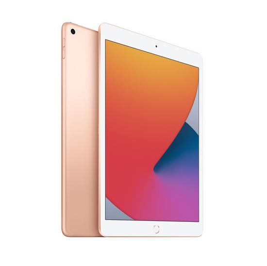 Apple Ipad 8 Wi-Fi tela 10.2 MYLC2LL/A 32gb Dourado  - Audio Video & cia