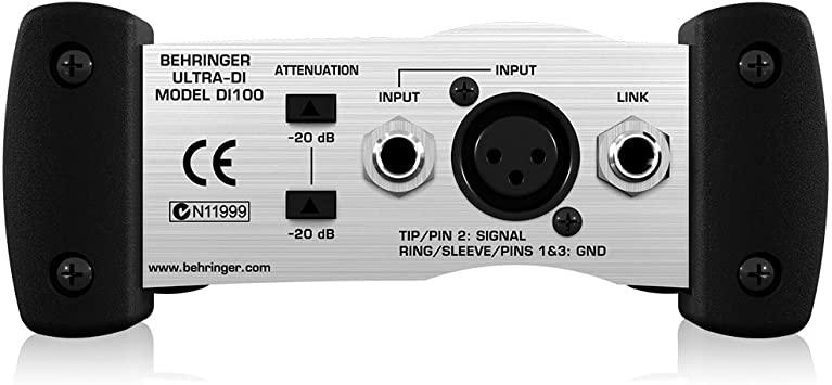 Behringer DI100 Direct box  - Audio Video & cia