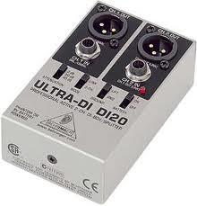 Behringer DI20 Direct box  - Audio Video & cia