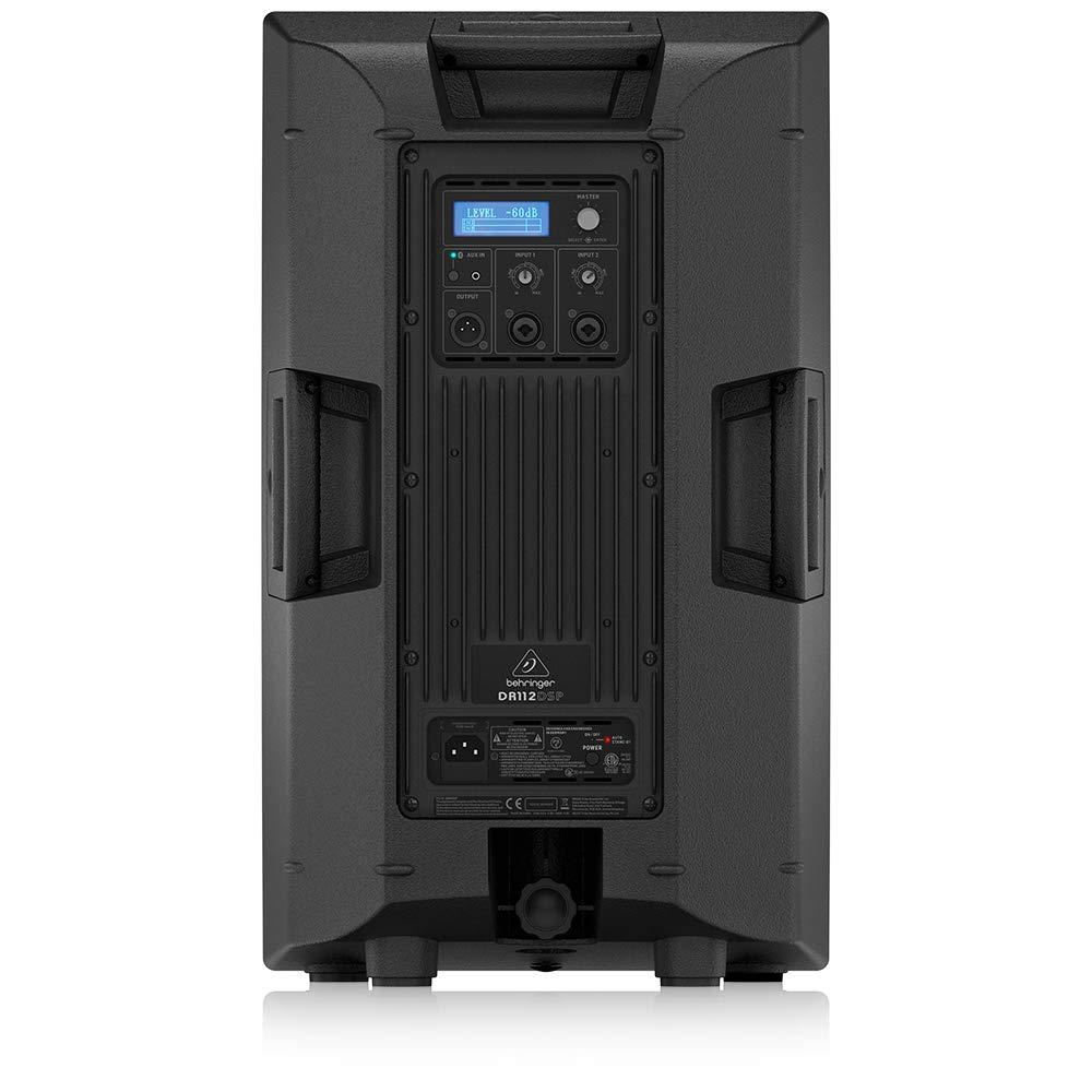 Behringer DR112 DSP Caixa Acustica Ativa de 12 pol 1200W - 110v (unid)  - Audio Video & cia