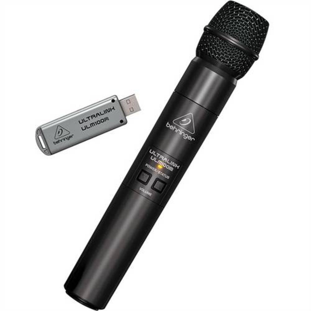Behringer ULM100usb Microfone sem fio usb  - Audio Video & cia