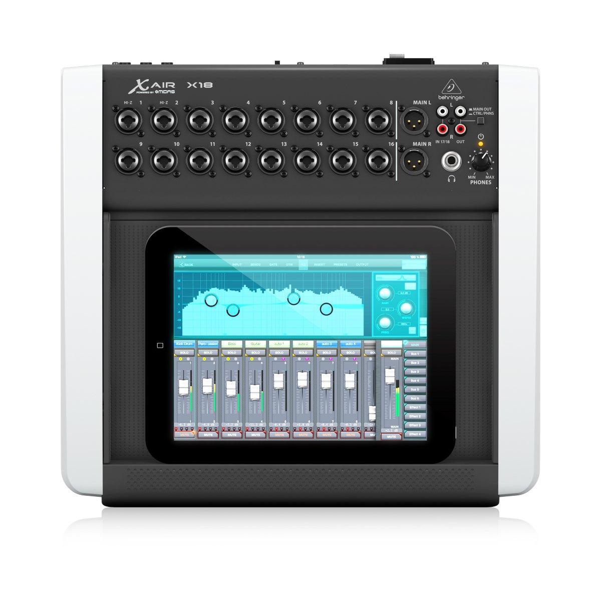 Behringer X18 air Mesa de Som Digital  - Audio Video & cia