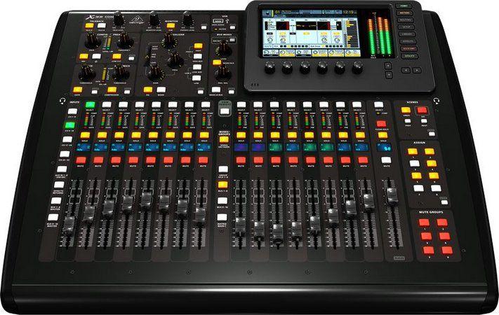 Behringer X32 Compact Mesa de som Digital  - Audio Video & cia