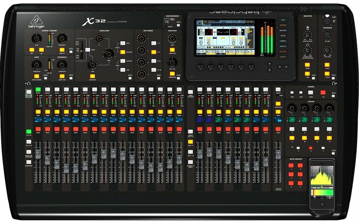 Behringer X32 Full Mesa de som Digital  - Audio Video & cia