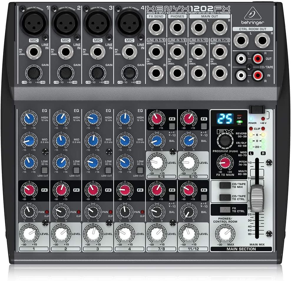 Behringer XENYX 1202FX Mesa de som  - Audio Video & cia