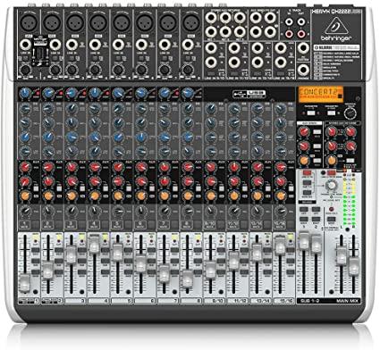 Behringer Xenyx QX2222USB Mesa de som  - Audio Video & cia