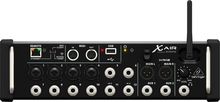 Behringer XR12 air Mesa de Som Digital  - Audio Video & cia