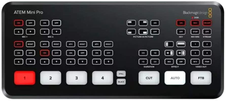 Blackmagic Atem Mini Pro Hdmi Live Stream  - Audio Video & cia
