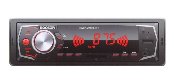 Booster BMP-2295UBT - Auto Rádio FM MP3 USB SDCard Player  - Audio Video & cia