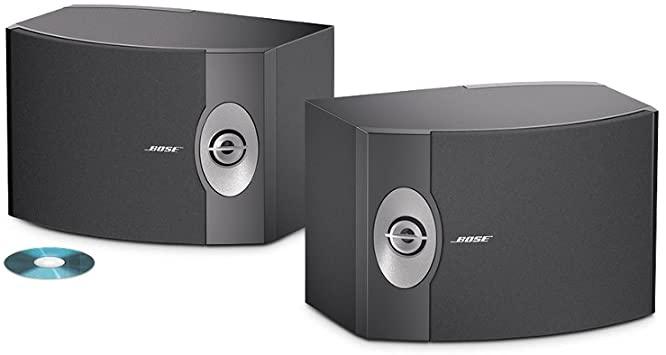Bose 301 Serie V Par de Caixa Acustica Bookshelf 120W  - Audio Video & cia