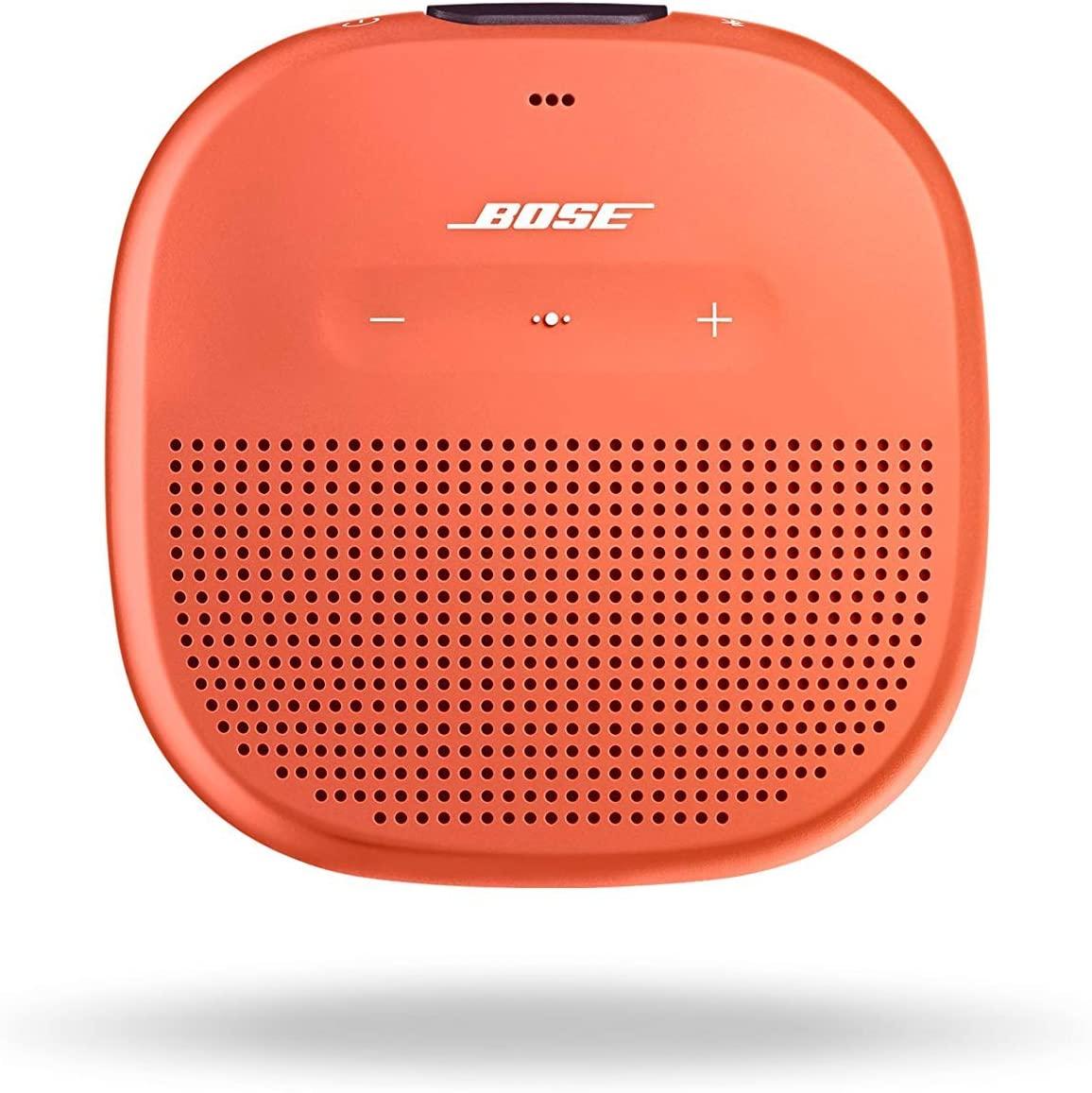 Bose Soundlink Micro Caixa de Som Bluetooth resistente a agua - Laranja  - Audio Video & cia