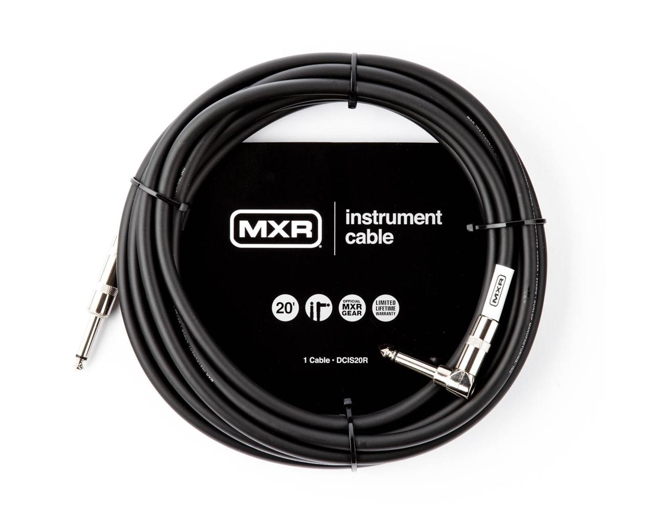 Cabo P/instrumentos 3m Mxr Standard Plug P10 Reto-angular Dcis10r Dunlop  - Audio Video & cia