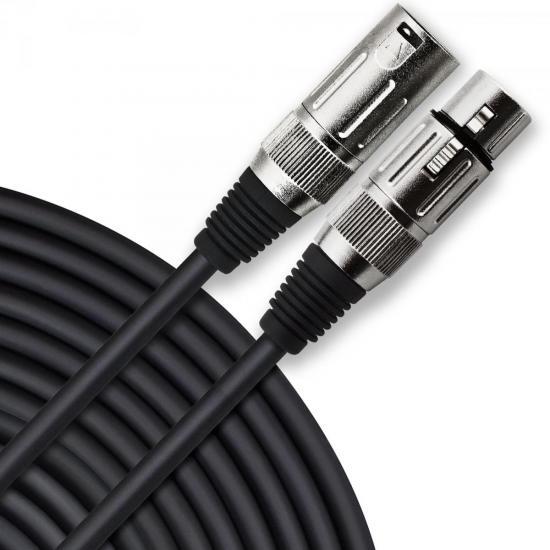 Cabo para Microfone XLR(F) X XLR(M) 10m PLAYER Preto HAYONIK  - Audio Video & cia
