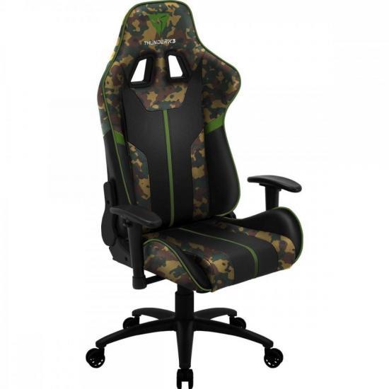 Cadeira Gamer BC3 CAMO/VD Military THUNDERX3  - Audio Video & cia