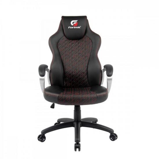 Cadeira Gamer Blackfire Preta/Vermelha FORTREK  - Audio Video & cia