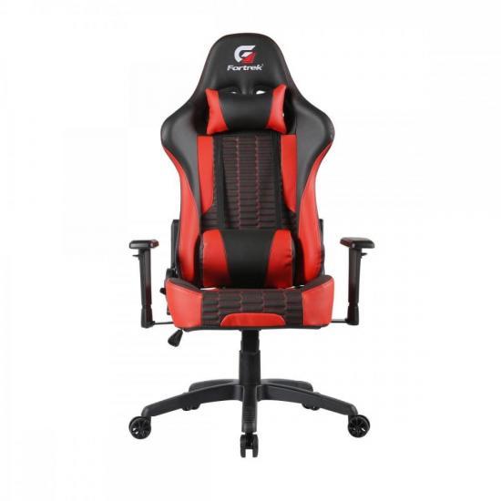 Cadeira Gamer Cruiser Preta/Vermelha FORTREK  - Audio Video & cia