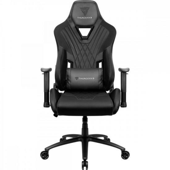 Cadeira Gamer DC3 Preta THUNDERX3  - Audio Video & cia