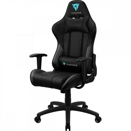 Cadeira Gamer EC3 Preta THUNDERX3  - Audio Video & cia