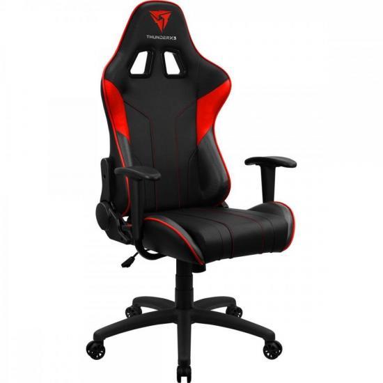 Cadeira Gamer EC3 Vermelha THUNDERX3  - Audio Video & cia