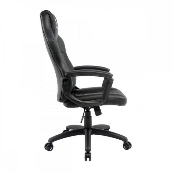 Cadeira Gamer Holt Preta/Cinza FORTREK  - Audio Video & cia