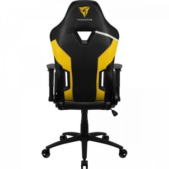 Cadeira Gamer TC3 Bumblebee Yellow THUNDERX3  - Audio Video & cia