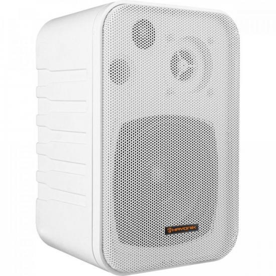 Caixa Acústica 60W MSB60N Branca HAYONIK - PAR / 2  - Audio Video & cia