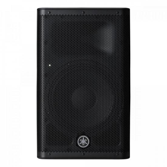 """Caixa Acústica Amplificada 8"""" de 2 Vias DXR8 MKII-BRA Preta YAMAHA  - Audio Video & cia"""
