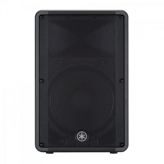 """Caixa Acústica Ativa 15"""" 465W DBR-15 Preta YAMAHA  - Audio Video & cia"""