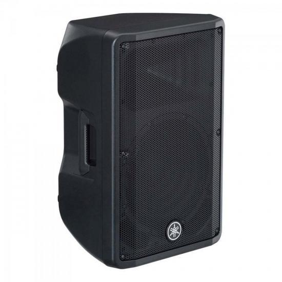 Caixa Acustica Ativa DBR12 Bivolt Preta YAMAHA  - Audio Video & cia