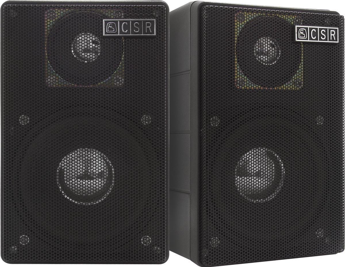 CAIXA ACÚSTICA CSR-75M 40W PRETA - PC / 2  - Audio Video & cia