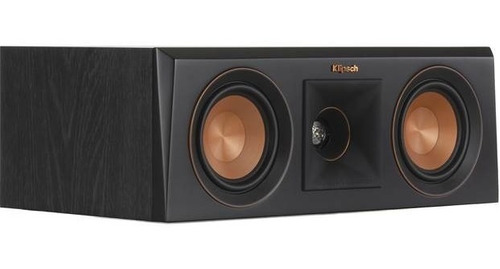 Caixa Central Klipsch Rp-400c Preta 300w Pico  - Audio Video & cia