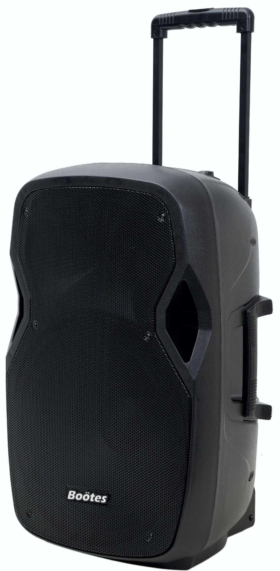 CAIXA DE SOM AMPLIF BOOTES BDA-1515B  AF 15 POL+DTI 420W MUS.  - Audio Video & cia