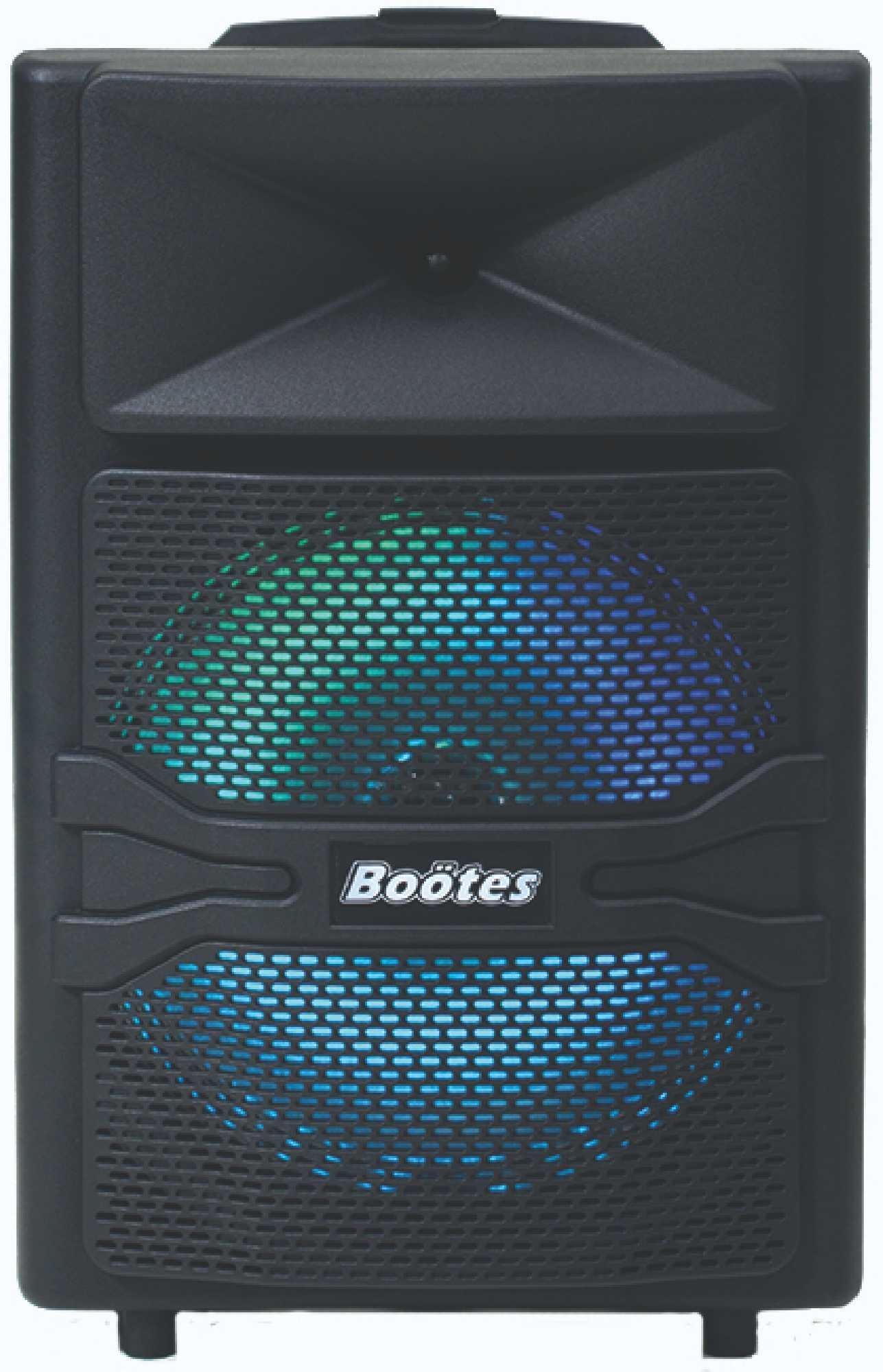 CAIXA DE SOM AMPLIF BOOTES BTU-512M AF 12 POL+TW 200W MUS.  - Audio Video & cia