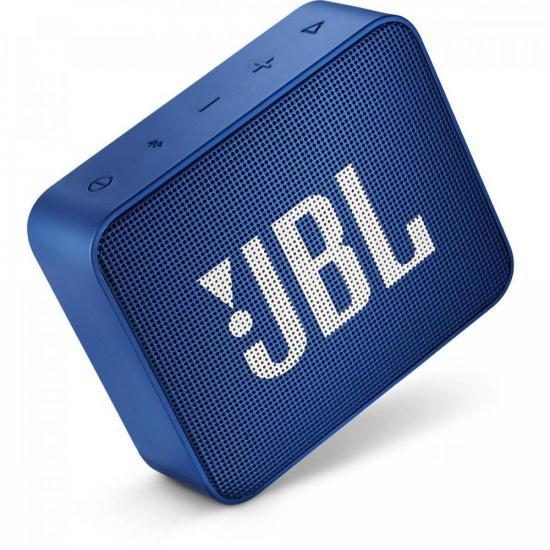 Caixa Multimídia Portátil Bluetooth GO 2 Azul JBL  - Audio Video & cia