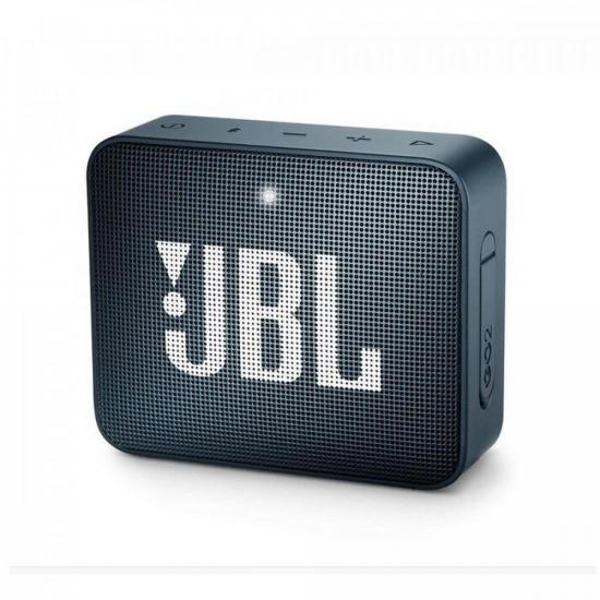Caixa Multimídia Portátil Bluetooth GO 2 Navy JBL  - Audio Video & cia