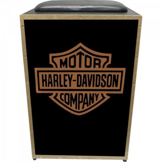 Cajon Eletroacústico Inclinado Profissional K2 COR-007 EQ Harley Davidson JAGUAR  - Audio Video & cia