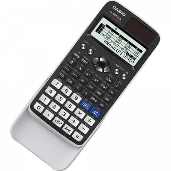 Calculadora Científica 552 Funções FX-991LAX Preta CASIO  - Audio Video & cia