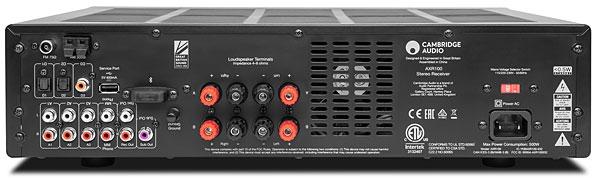 Cambridge Audio AX-R100 - Receiver Stéreo AM/FM 2.1ch com entrada Phono 100Wrms em 8 ohms 110v  - Audio Video & cia