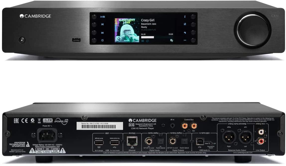 Cambridge Audio CXN V2 - Versão 2 - Network Player de alta fidelidade  - Audio Video & cia