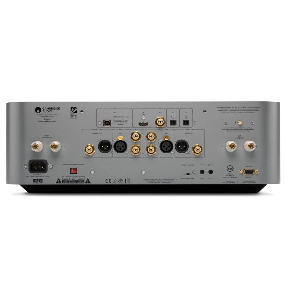 Cambridge Audio Edge A - Amplificador Integrado entradas XLR balanceadas 100W rms 110V  - Audio Video & cia