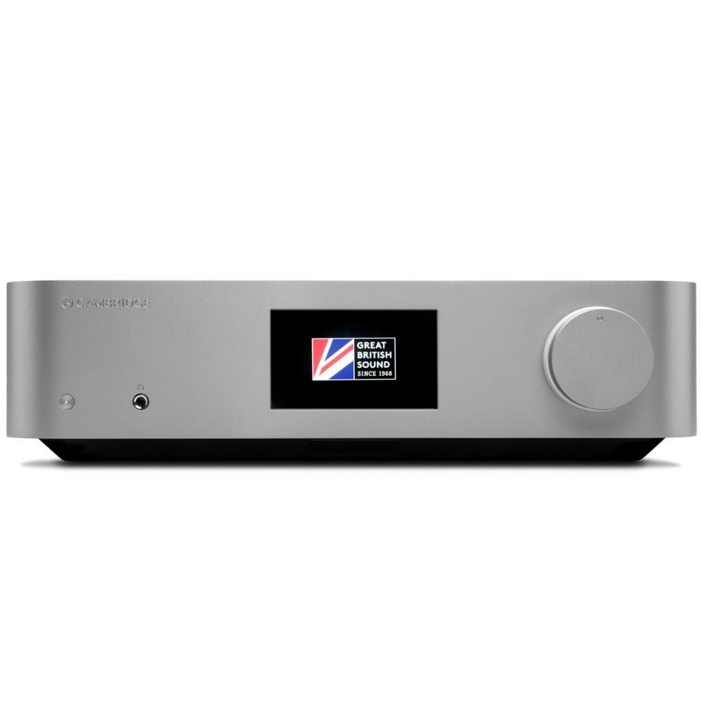 Cambridge Audio Edge NQ Pré-Amplificador Integrado com Network Player - Silver  - Audio Video & cia