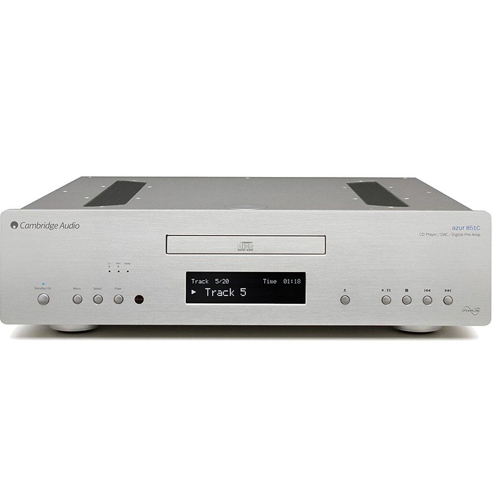 Cambridge Azur 851C Silver Cd Player  de Alta Fidelidade 110V  - Audio Video & cia