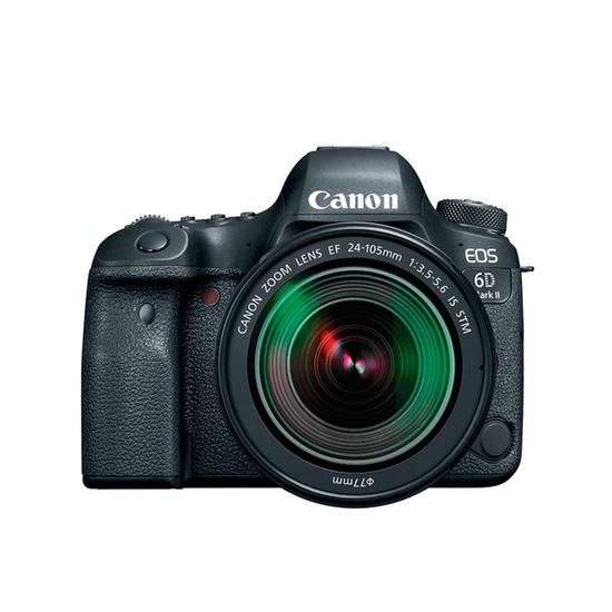 Canon Eos 6D Mark II Camera com Lente 24-105 mm F/3.5-5.6 Is STM  - Audio Video & cia