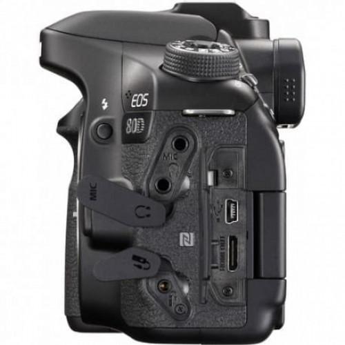 Canon EOS 80D Camera 24.2 MegaPixels - Corpo  - Audio Video & cia