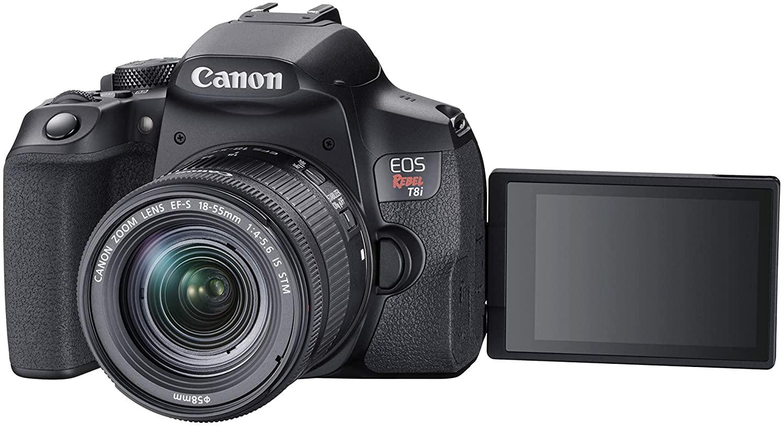 Canon Eos Rebel T8i 18-55mm Is Stm Kit Dslr  - Audio Video & cia
