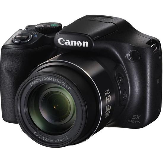 Canon SX540 HS Camera 20,3MP 50X zoom  - Audio Video & cia