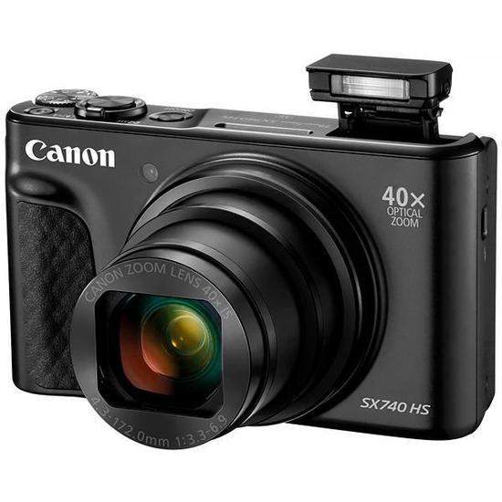 Canon SX740 HS Camera 20.3MP zoom 40X  - Audio Video & cia
