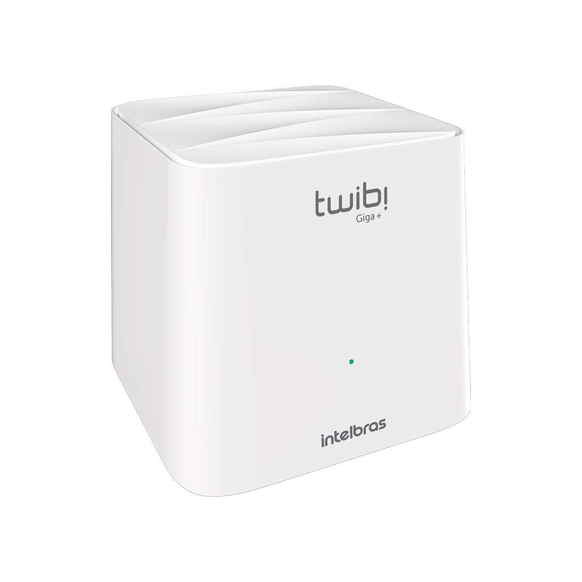 CONJUNTO ROTEADOR MESH TWIBI GIGA+ AC1200 DUAL BAND PACK C/2 4750079  - Audio Video & cia